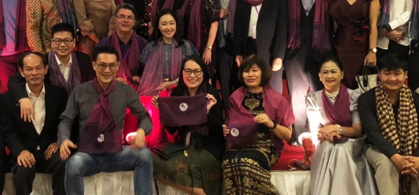 งานประชุมใหญ่ประจำปีแห่งสมาคมแพทย์ผิวหนังที่ประเทศกัมพูชา ครั้งที่ 5