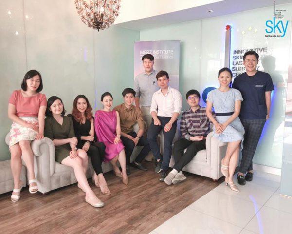 iSKY ร่วมกับ Merz Aesthetics จัด Workshop สอนฉีดฟิลเลอร์แก่แพทย์