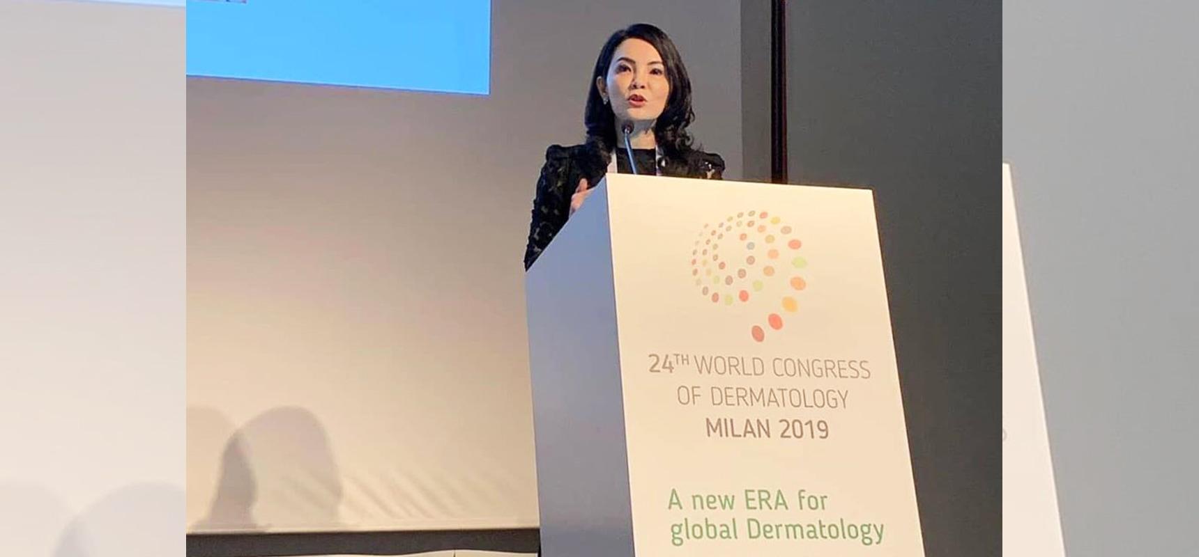 แพทย์ไทยร่วมบรรยายในเวทีประชุมระดับโลก World Congress of Dermatology